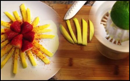 Paleo Mango en Fuego